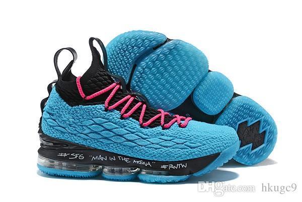 Высокое качество новые пепел призрак Леброн 15 Баскетбол обувь прибытия кроссовки 15s мужская повседневная 15 KingJames спортивная обувь-as5d15qw8as489dqw