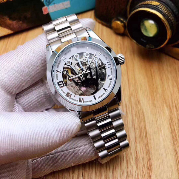 top popular 2019 luxury designer brand automatic mens watches ladies fashion brand watch women automatic top quality gold black tag watches 2019