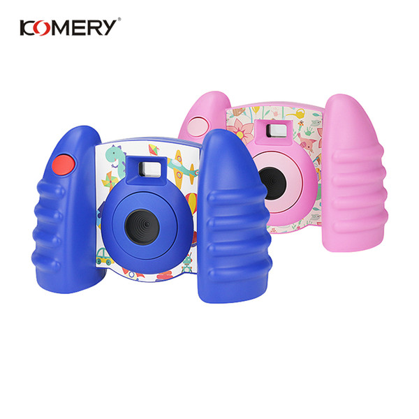 KOMERY New Arrivals Original Children Camera kids toys educational photography Anti-fall Healthy Material New Gift For Children
