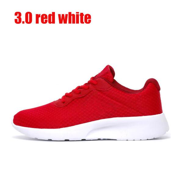 3.0 rojo blanco con el símbolo blanco 36-44