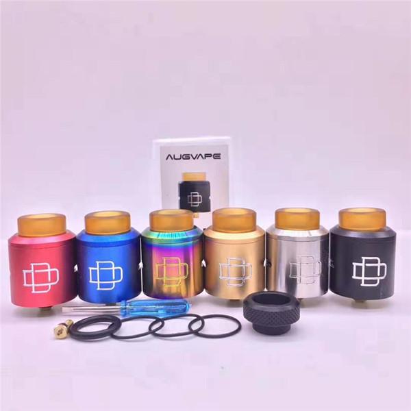En iyi RDA Druga Klon 24mm Atomizer Vape PEI damla İpucu ile 810 Mod Vape için DHL ücretsiz