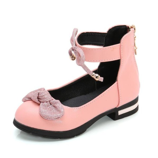 recognized brands quality products good New Bow Children Toddler Baby Girls Casual Leather Shoes For Girls Dance  Princess Shoes White Black Pink Kids Sale Shoes Birkenstock Shoes From ...