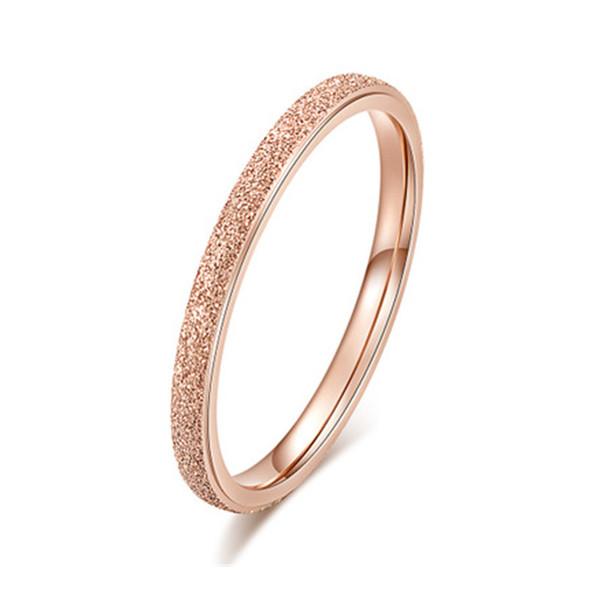 18 rose gold ring