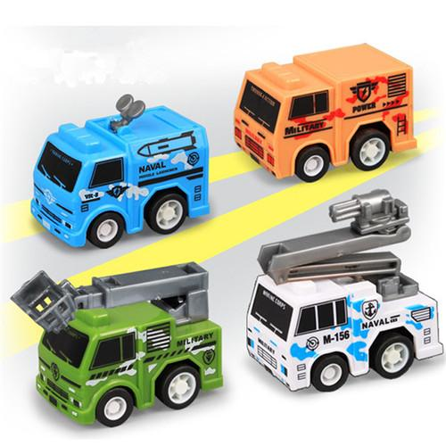 4 military vehicles [mixed]