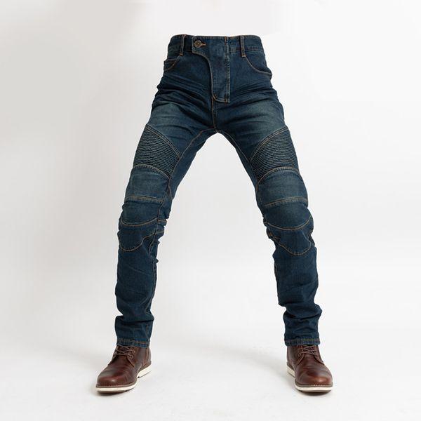 2019 Новый Комине классический мотоцикл брюки мужчины мотокросс джинсы защитное снаряжение езда туризм мотоцикл брюки мотокросс брюки