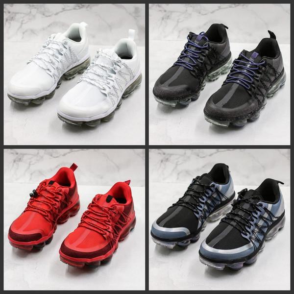 2019 el más nuevo de alta calidad de diseño de utilidad zapatos para correr hombres cojín de aire blanco negro rojo zapatillas de deporte tamaño 40-45