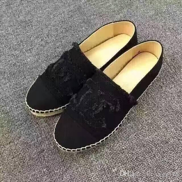 HOT Size 35-42 Wholesale Brand Fashion Women Solid sequins Flats Shoes Sneakers Women and Men Canvas Shoes loafers casual shoes Espadrilles