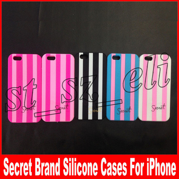 Secert Brand Silicone Cases For iPhone 7Plus 5 6 6S 6Plus 7 8 8Plus Silicone Cover For iPhone X Beauty Phone Accessories