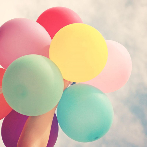1 stücke 36 zoll Bunte Große Latexballons Helium Inflable Blow Up Riesenballon Hochzeit Geburtstag Party Große Ballon Dekoration