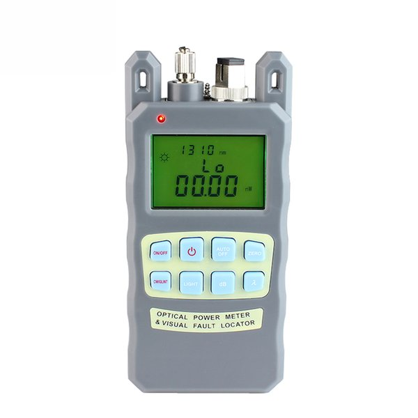 2PCS All-IN-ONE Fiber optical power meter -70 to +10dBm1mw 5km Fiber Optic Cable Tester Visual Fault Locator
