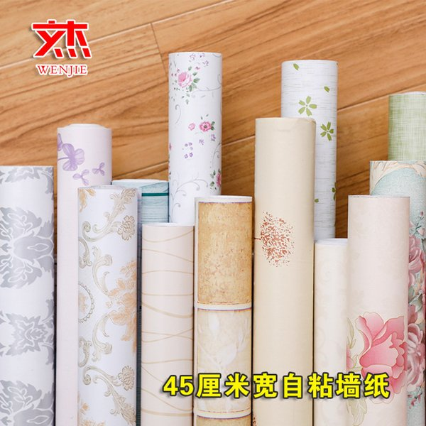 Retro wall brick brick wallpaper stone wall paste college student bedroom self-adhesive wall paper bedroom waterproof