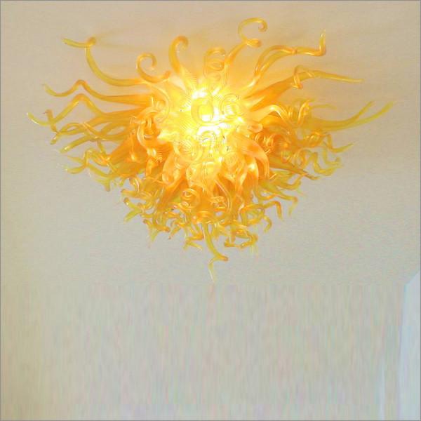 Необычная светодиодный Современная ручной Чихул Стиль подвесок Лампа сшитый висячие LED Новых Горячих продаж золото огней для дома