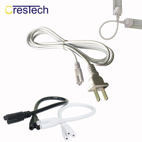 US Plug 6ft T5 T8 LED Tube Wire switch Connector With ON OFF Switch Power Cord Extension Pigtail Cord for Lamp Light Port