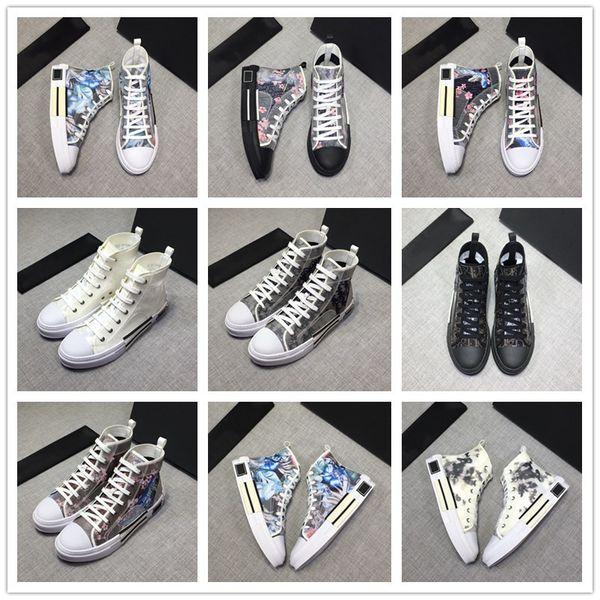 LuxuxMens Schuhe Damen-Designer-Schuhe Sneaker Klassische Fashion High-Top-Laufschuhe Marke flache beiläufige Schuh B102769K
