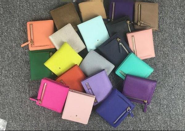 Classic cross pattern female coin purse wallet zipper fashion female purse short wallet clutch bag brand design female purse