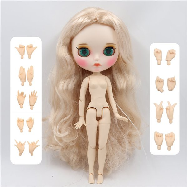 Color:doll with hands AB&Size:30cm nude