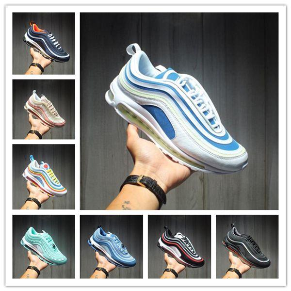 2020 nuovi pattini del progettista 97s Buona giornata Scarpe SE GS Metallic Gold Silver Bullet Scarpe Tab Uomo Donna Sneakers 5,5-11 esecuzione