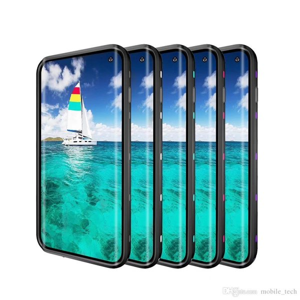 For Galaxy S10 S10 plus S10 5G S10E Waterproof Case Shock Proof RedPepper Case full 360 cover case 6colors