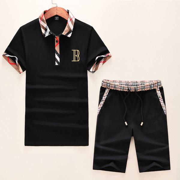 Marque Designer Mens Survêtements Nouvel Été De Luxe Survêtements Hommes Vêtements Designer T-shirt Shorts Costumes Marque Vêtements M-3XL