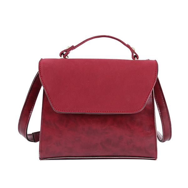 Grinding lady's small handbag Satchel square bag New Small Handbag Single Shoulder Trendy Women's Bag Girls'fashion bag Fashion handbag