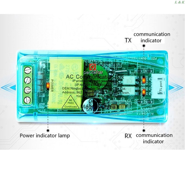 Compteurs d'énergie PZEM-004T 3.0 Version Module de communication TTL MODBUS-RTU Compteurs d'énergie 100A PXPC