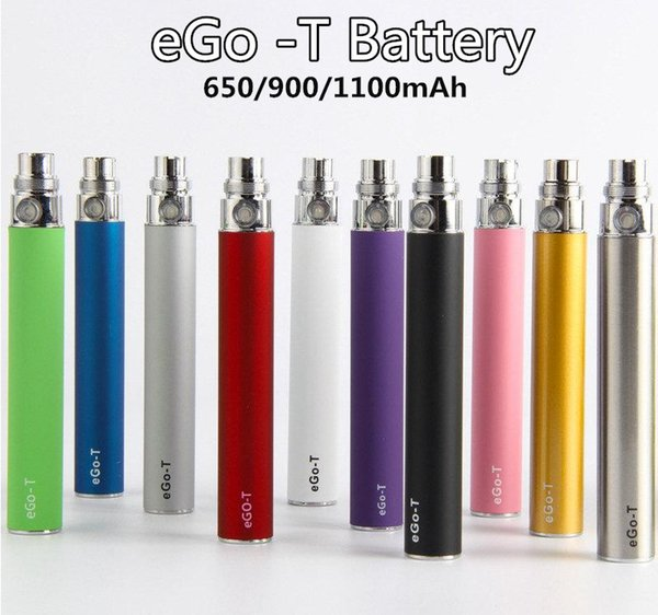 EGO T Vape Pen Electronic Cigarette EVOD 510 Thread Battery for CE4 MT3 CE5 Protank DHL