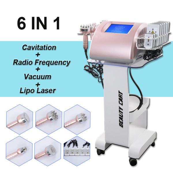 Professional radio frequency rf skin tightening machine ultrasound fat cavitation body contouring lipo laser body shaping system vacuum butt