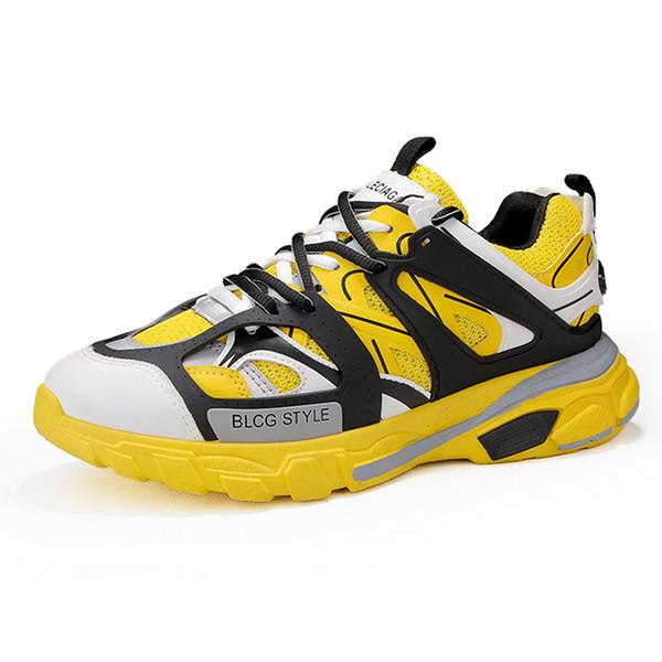 Новые Мужские Ретро Высокие Верхние Коренастые Кроссовки Мужчины Смешанные Цвета Дизайнерская Обувь Мужская Повседневная Обувь Мода Носок Скейтбординг