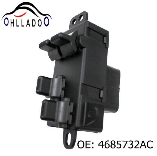 best selling HLLADO Car Electric Power Master Window Switch 4685732AC Fit C hryler D odge Grand Caravan Town Country 04-07