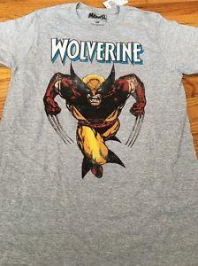 Мужская рубашка малого размера с изображением росомахи 75 футболка Franks Logan Marvel