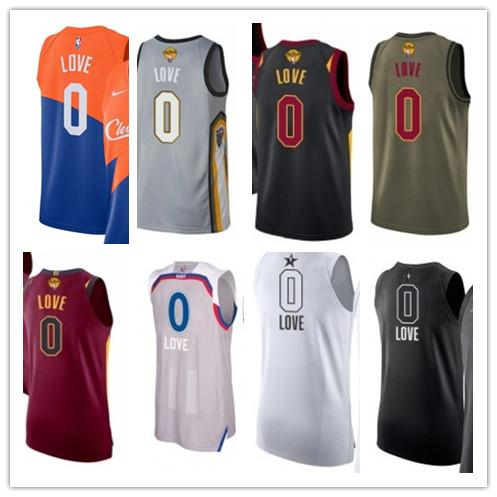 best service 08d4d e3679 2019 Custom Best 2018 Basketball Wear Men'S Cleveland Cavalier#0 Kevin Love  Swingman Yellow Jersey City Edition Basketball Jerseys From Gjybest003, ...