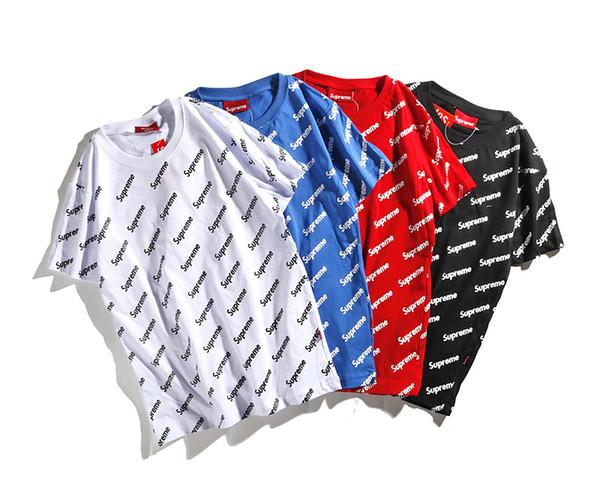 2019 yaz erkek kadın tasarımcı T-shirt baskı mektuplar pamuk kısa kollu casual gömlek T-shirt erkek M-XXL