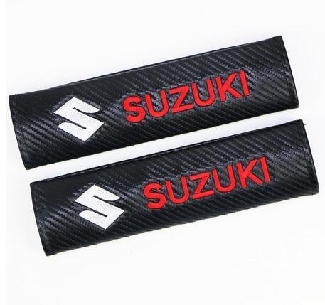 Car Styling Protection Shoulder Cover Pad Case para Suzuki SWIFT VITARA SX4 Badge Car Sticker Accesorios Car Styling