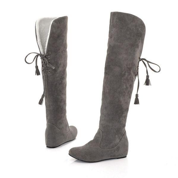 0f711b3 botas color gris mujer