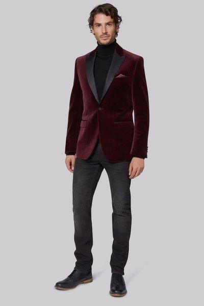 Cheap And Fine One Button Groomsmen Peak Lapel Groom Tuxedos Men Suits Wedding/Prom/Dinner Best Man Blazer(Jacket+Pants+Tie) A380