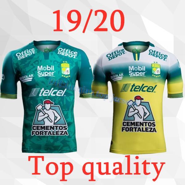 Nuevo 2019 2020 Club Leon F.C. Camiseta de fútbol 19 20 Liga MX club Leon 3a camiseta de fútbol local S-2XL