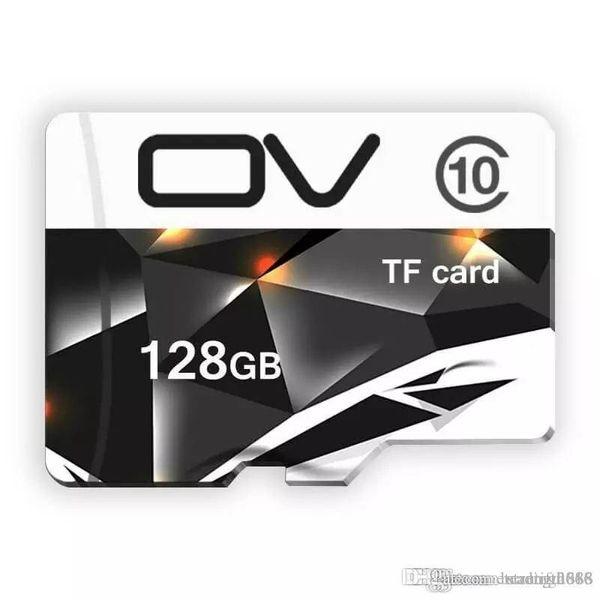 Capacidad real Diseño de logotipo personalizado 64GB-128GB Micro SD MicroSDHC Micro SD SDHC Tarjeta Clase 10 UHS-1 TF Tarjeta de memoria para teléfonos inteligentes cámaras MP4