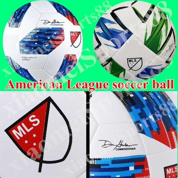 top popular new American League high quality ball MLS Soccer ball 2020 USA Final KYIV PU size 5 balls granules slip-resistant football Free shipping 2021