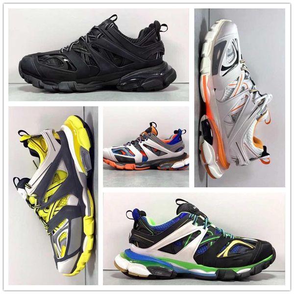 N ew 2019 Paris Fashion Sneakers cremagliera Tess S Gomma Trek SNEAKERS BASSE pista 3M MAILLE Moda Scarpe Outdoor Jogging ShoesUS5.5-US11 27