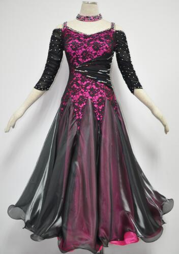 Frauen Gesellschaftstanz Kleid Kleidung Latin Dance Rock Ballett TuTu Trikot. Wir sind fabrik, wir können qualitativ hochwertige maßgeschneiderte stile, co