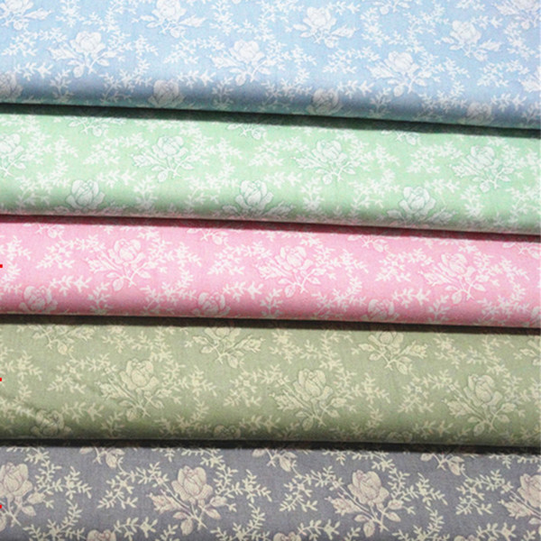 Gardens small flower print Bedding fabrics 100%cotton fabric for baby cloth 10yards/lot tomo187