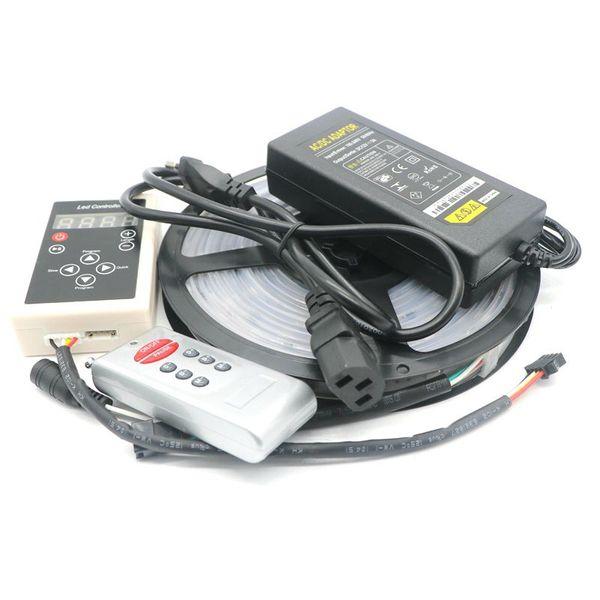 5m 6803 IC 5050 RGB LED digital 150 LEDs IP67 Impermeable Dream Magic Color 6803 Led Strip 5050 30LED / m DC12V