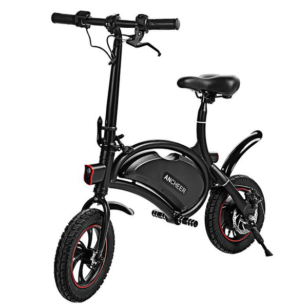 top popular Bluetooth (above Android 4.3 iOS 8) GPS Folding Aluminum Electric Bike Portable Electric Bicycle 20KM Range IPX5 Waterproof 2020