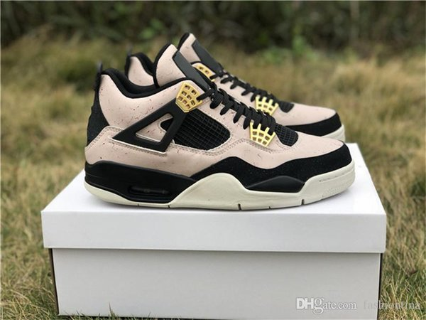 2019 Hot Release Authentic 4 Silt Red 4S Women Men Basketball Shoes Sports Sneakers With Original Box AQ9129-601