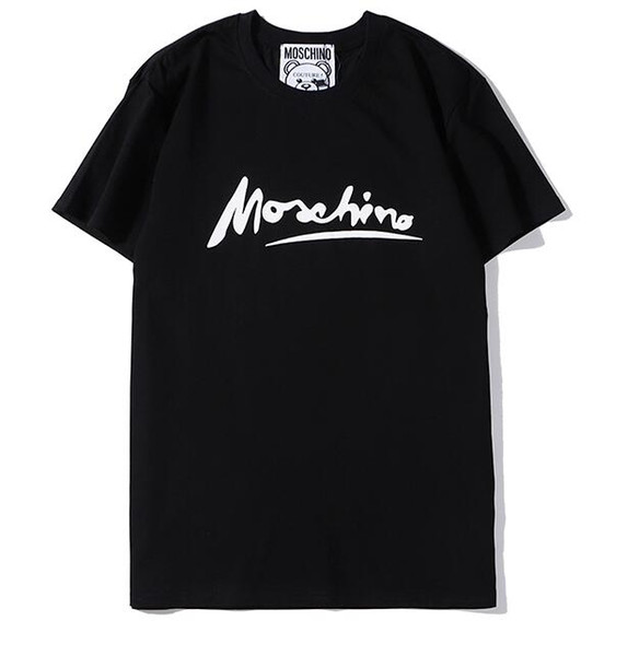 Men's moschinos T-Shirts new fear of god Successful men's latest fashionable multi-brand breathable comfortable high-quality leisure T-shirt