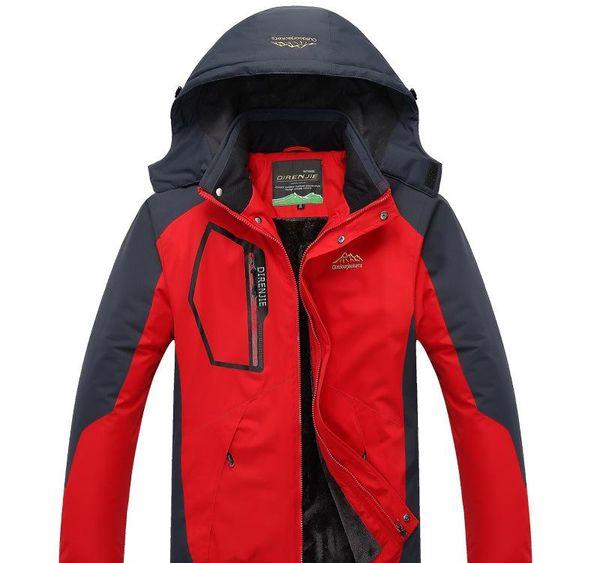 Nizza Large Size caldo Outwear inverno degli uomini antivento Windbreaker Jacket Hood Uomini caldo parka giù ricoprono il formato la L-5XL Doudou