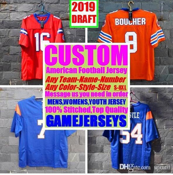 new product 627bf da9a4 2019 All Stitched Custom American Football Jerseys Arizona Atlanta College  Authentic Cheap Baseball Basketball Hockey Jersey 4xl 6xl 8xl Store From ...