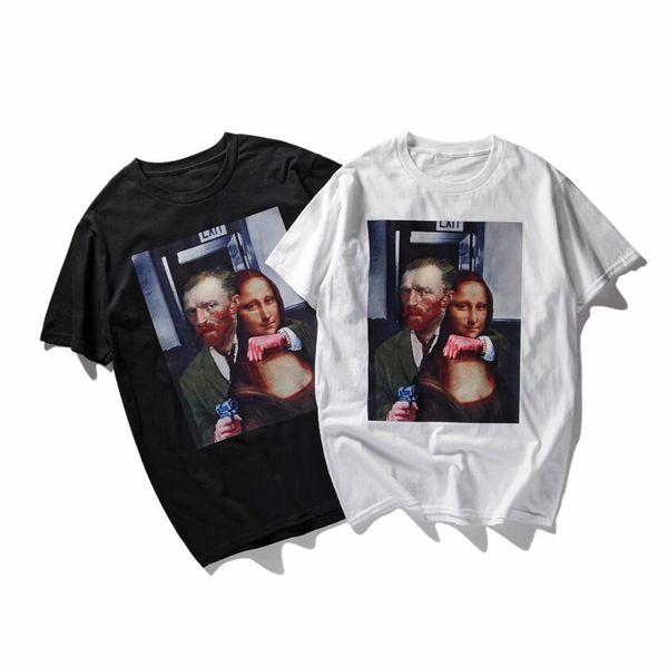 2018 new style men's Clothing fishnet breathable mens vest slim fit t-shirt fashion short sleeve tshirts collar designer t shirts g23