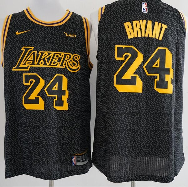 brand new f4868 14463 2019 Basketball Served The Los Angeles Lakers 24 Bryant Jersey James Kurtz  Horse Black Mamba Men'S And Women'S Sports Vest From Cuicui22, $29.45   ...