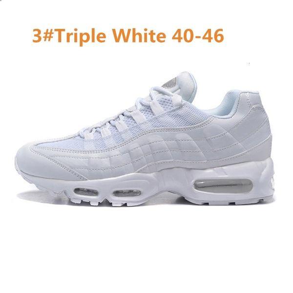 3 Triple White 40-46